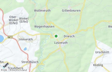 Stadtplan Lutzerath