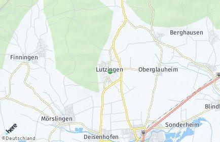 Stadtplan Lutzingen
