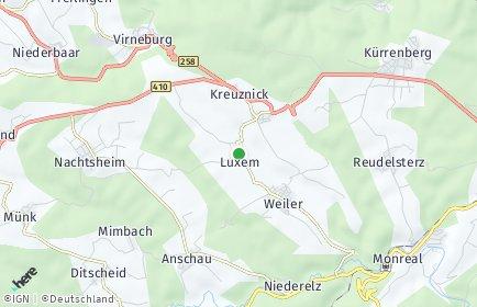 Stadtplan Luxem