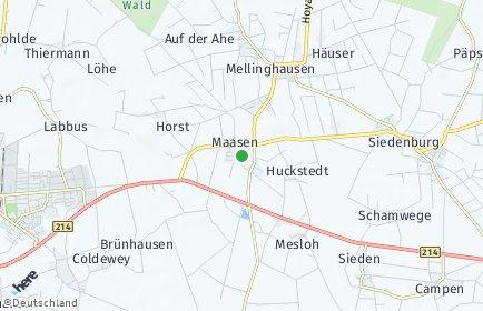 Stadtplan Maasen