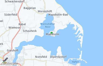 Stadtplan Maasholm