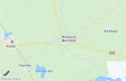 Stadtplan Märkisch Buchholz