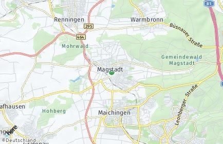 Stadtplan Magstadt