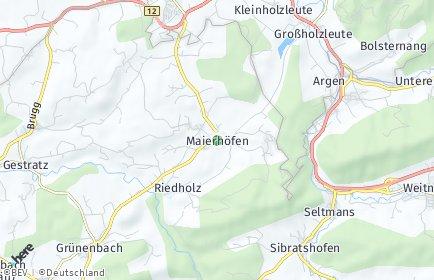 Stadtplan Maierhöfen