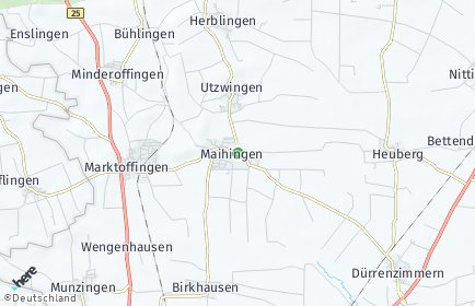Stadtplan Maihingen