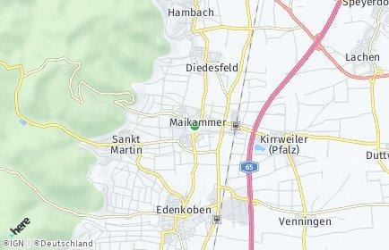 Stadtplan Maikammer