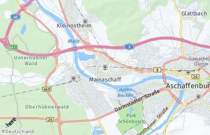 Stadtplan Mainaschaff