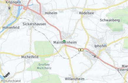 Stadtplan Mainbernheim
