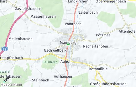 Stadtplan Mainburg