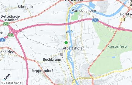 Stadtplan Mainstockheim