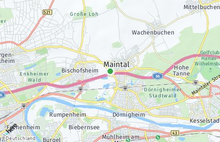 Stadtplan Maintal
