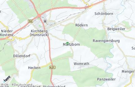 Stadtplan Maitzborn