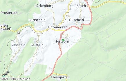 Stadtplan Malborn