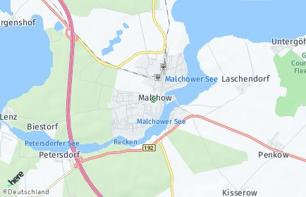 Stadtplan Malchow