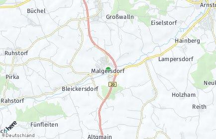Stadtplan Malgersdorf