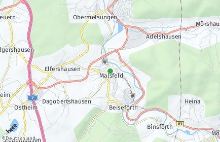 Stadtplan Malsfeld
