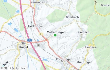Stadtplan Malterdingen