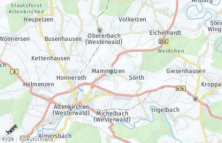 Stadtplan Mammelzen