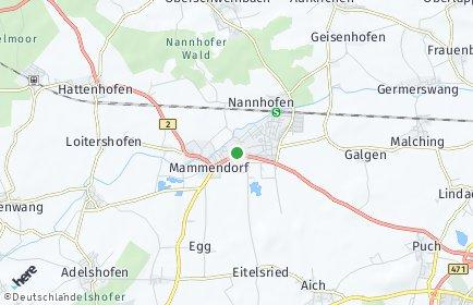 Stadtplan Mammendorf