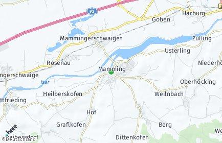 Stadtplan Mamming