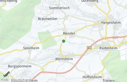 Stadtplan Mandel