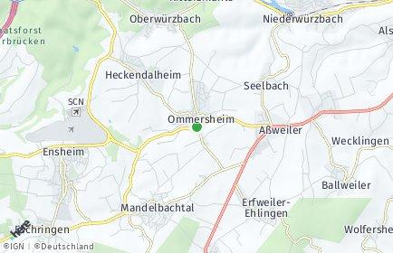 Stadtplan Mandelbachtal