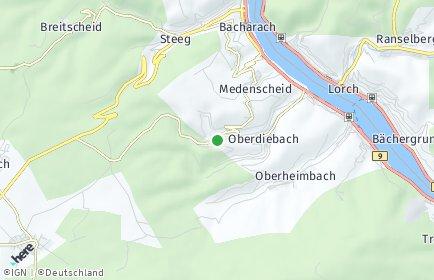 Stadtplan Manubach