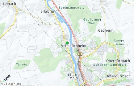 Stadtplan Margetshöchheim