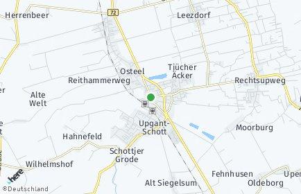 Stadtplan Marienhafe