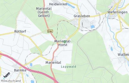 Stadtplan Mariental