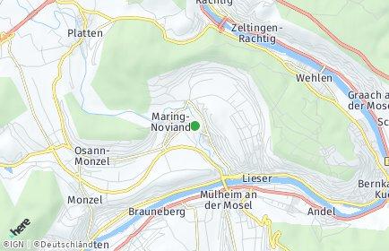 Stadtplan Maring-Noviand
