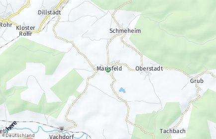 Stadtplan Marisfeld
