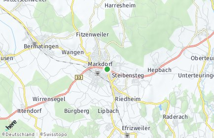 Stadtplan Markdorf