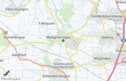 Stadtplan Markgröningen