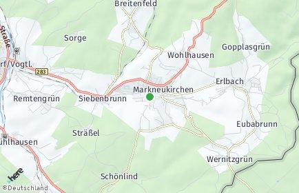 Stadtplan Markneukirchen