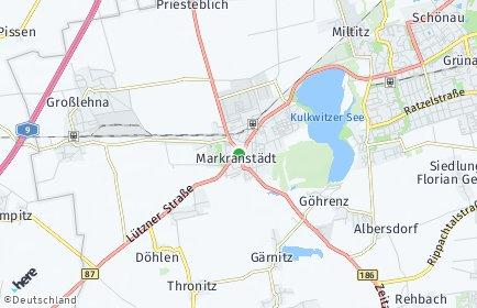 Stadtplan Markranstädt