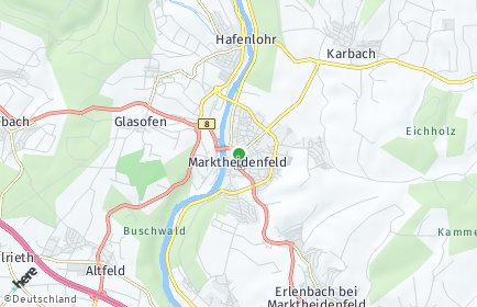 Stadtplan Marktheidenfeld