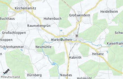 Stadtplan Marktleuthen