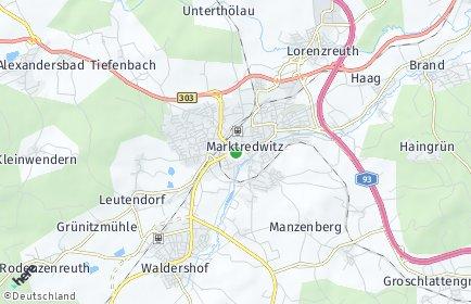 Stadtplan Marktredwitz