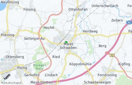 Stadtplan Markt Schwaben