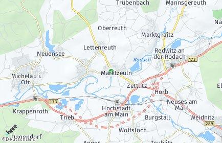 Stadtplan Marktzeuln