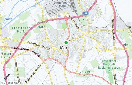 Stadtplan Marl
