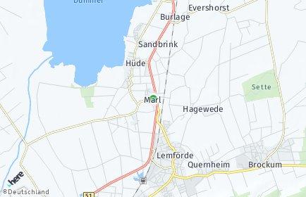 Stadtplan Marl (Dümmer)