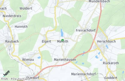 Stadtplan Maroth
