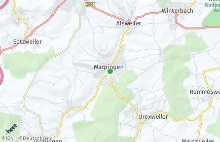 Stadtplan Marpingen