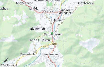 Stadtplan Marquartstein OT Niedernfels
