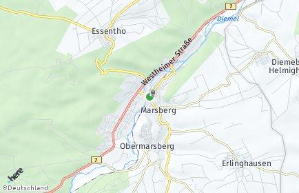 Stadtplan Marsberg