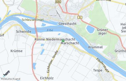 Stadtplan Marschacht