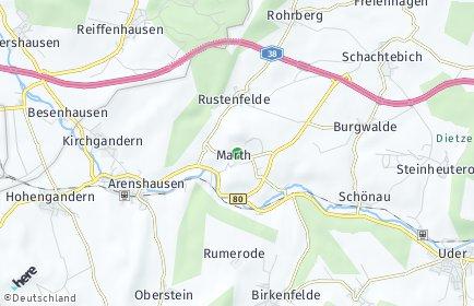 Stadtplan Marth