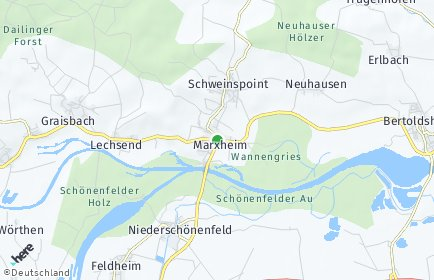 Stadtplan Marxheim